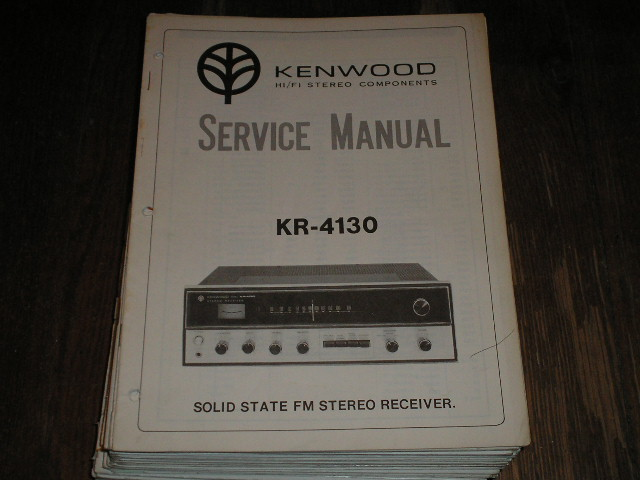 KR-4130 Receiver Service Manual  Kenwood Receivers