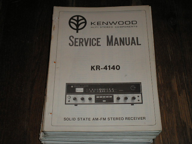 KR-4140 Receiver Service Manual  Kenwood Receivers