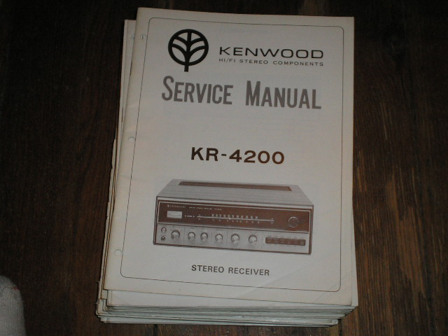 KR-4200 Receiver Service Manual  Kenwood Receivers