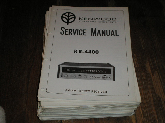 KR-4400 Receiver Service Manual