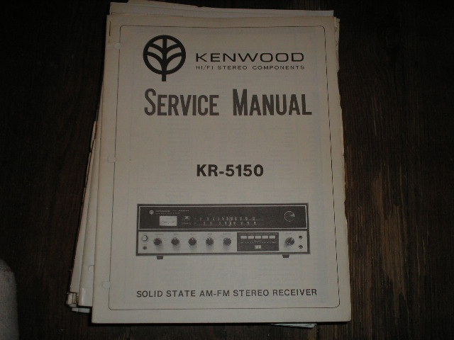 KR-5150 Receiver Service Manual  Kenwood Receivers