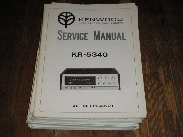 KR-5340 Receiver Service Manual  Kenwood Receivers