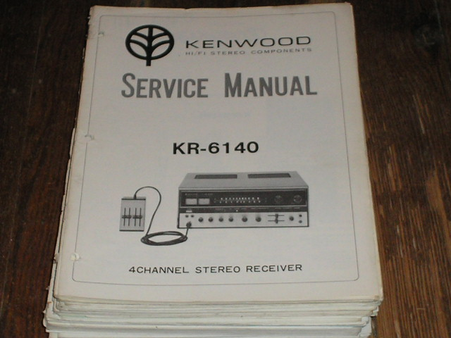 KR-6140 Receiver Service Manual  Kenwood Receivers