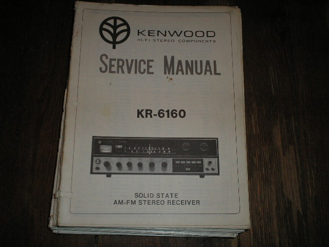 KR-6160 Receiver Service Manual