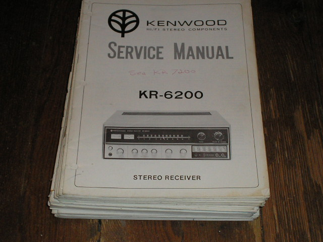 KR-6200 Receiver Service Manual