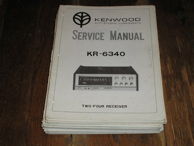 KR-6340 Receiver  Kenwood Receivers