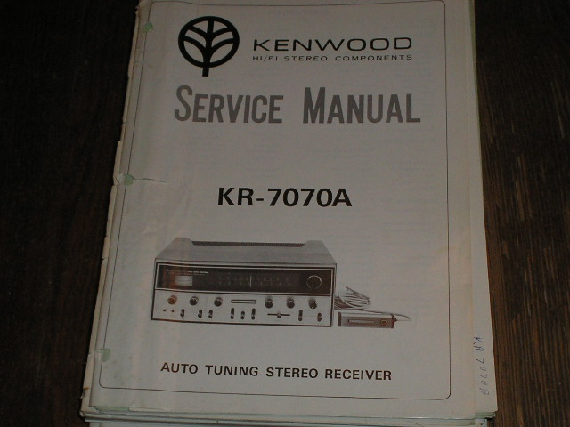 KR-7070A Receiver Service Manual