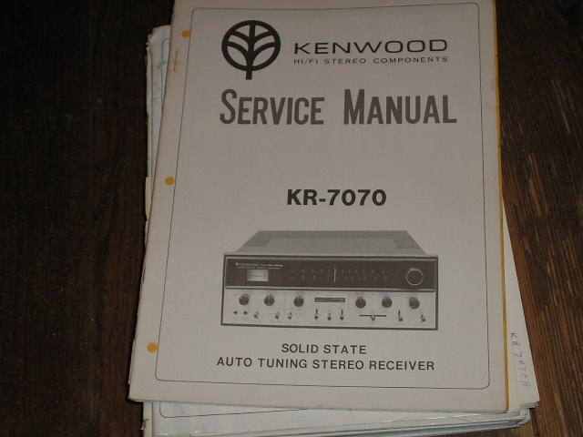 KR-7070 Receiver Service Manual