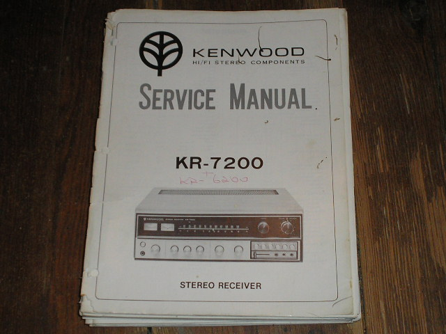 KR-7200 Receiver Service Manual