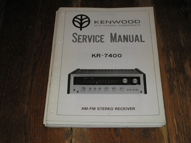 KR-7400 Receiver Service Manual