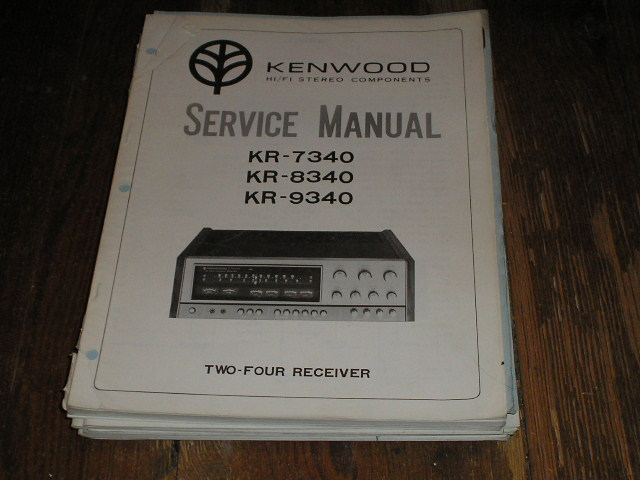 KR-8340 KR-7340 KR-9340 Receiver  Kenwood Receivers