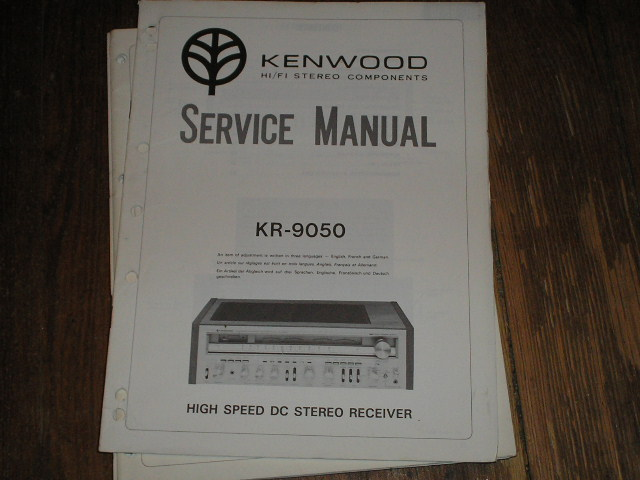 KR-9050 Receiver Service Manual