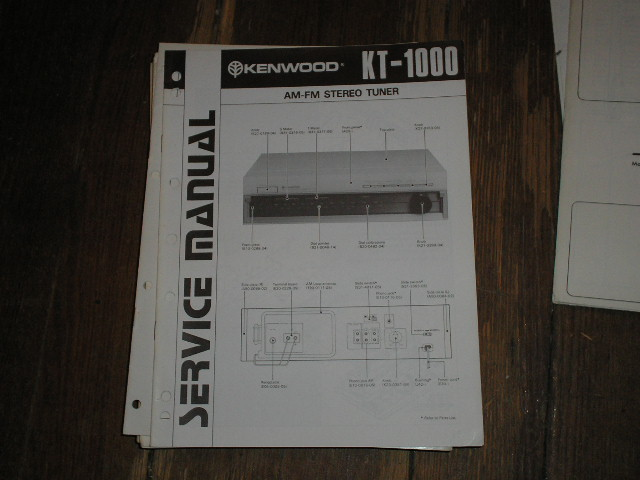 KT-1000 TUNER Service Manual  B51-0751...132