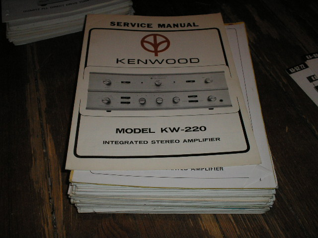KW-220 Amplifier Service Manual
