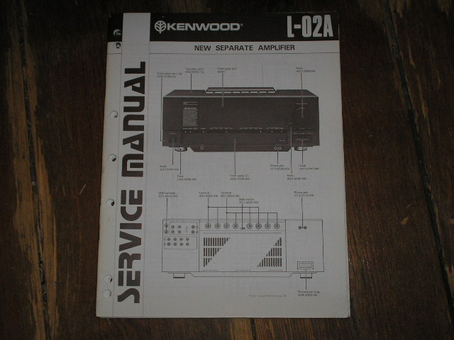L-02A Amplifier Service Manual