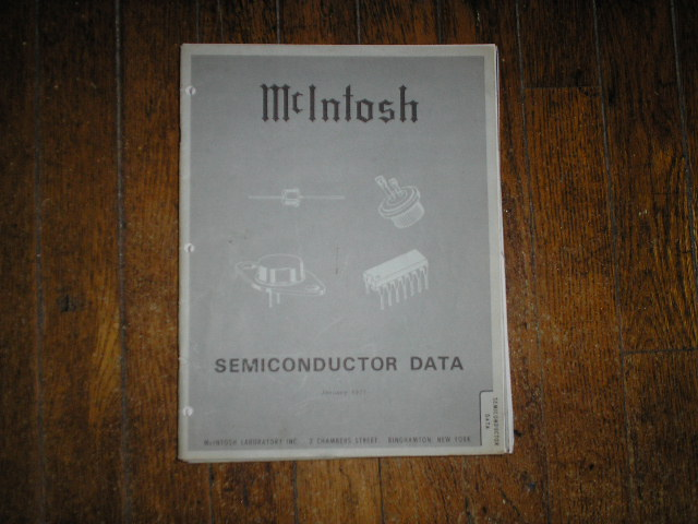 McIntosh 1971 SEMICONDUCTOR Manual has photos of the diodes and transistor data etc..