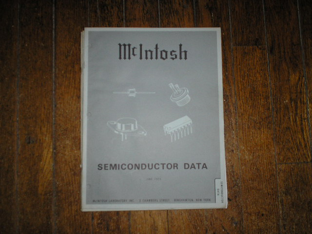 McIntosh 1973 SEMICONDUCTOR Manual has photos of the diodes and transistor data etc..
