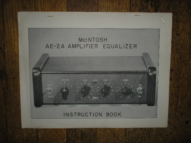 Adc Stereo Equalizer Manuals