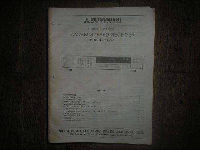 DA-R4 Receiver Service Manual