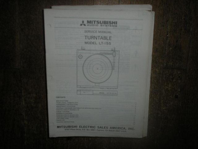 LT-155 Turntable Service Manual  LSM6057