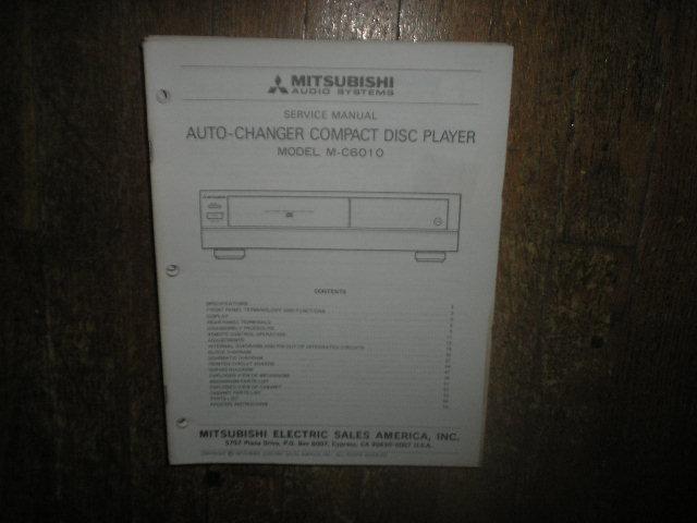 M-C6010 CD Player Service Manual