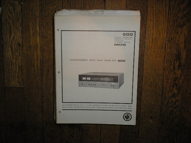 FAM-500 Tuner Service Manual with Schematic