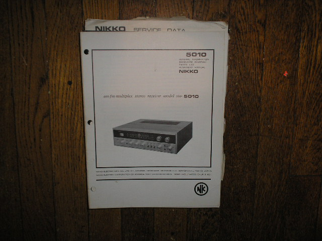 STA-5010 AM FM STEREO RECEIVER Service Manual  NIKKO