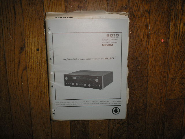 STA-6010 AM FM STEREO RECEIVER Service Manual  NIKKO