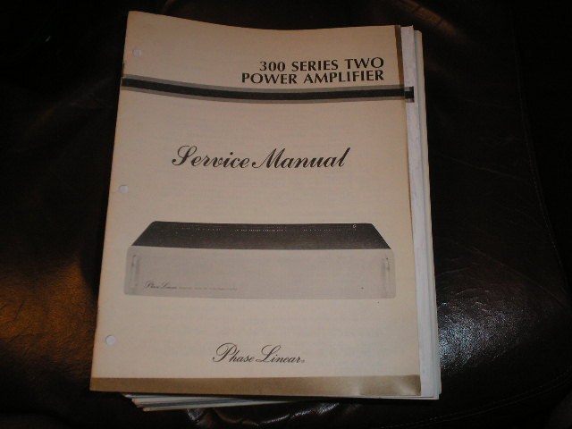 300 Series Two 2 Power Amplifier Service Manual