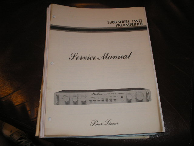 3300 Series Two 2 Pre-Amplifier Service Manual