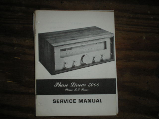 5000 Tuner Service Manual