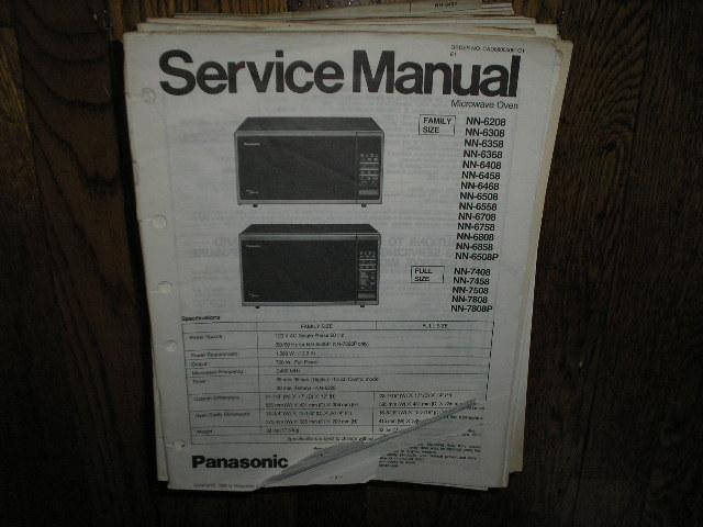 Panasonic Nn 6208 Nn 6508 P Nn 6558 Nn 6708 Nn 6758 Nn