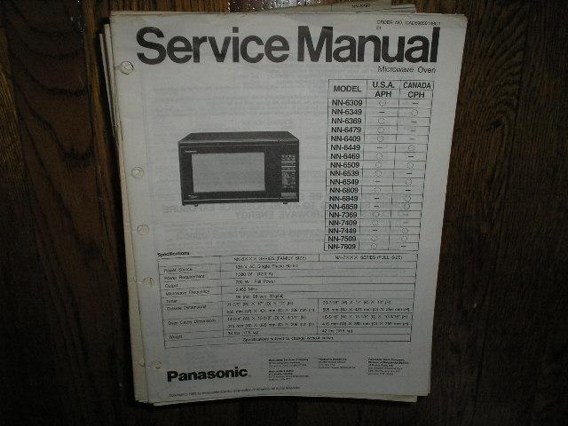 Panasonic Nn 6309 Nn 6509 Nn 6539 Nn 6549 Nn 6809 Nn 6849