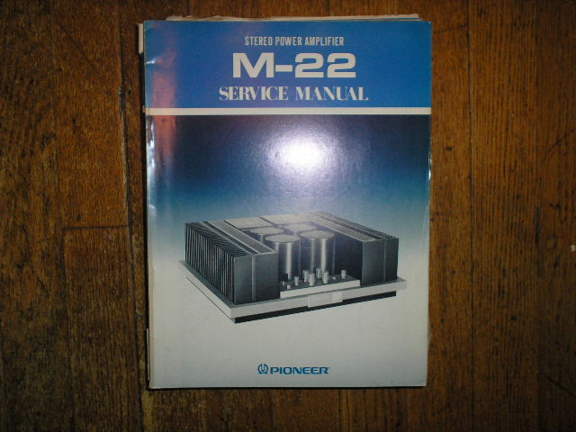 M-22 Power Amplifier Service Manual