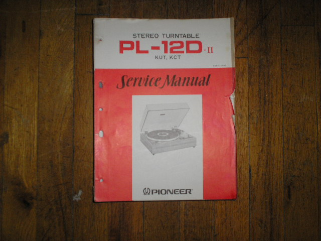 PL-12D 2 KUT KCT   Turntable Service Manual  ART-117-0