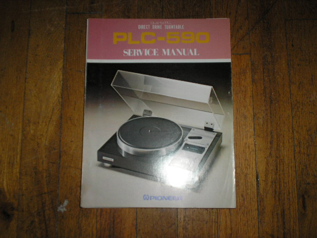 PLC-590 Turntable Service Manual  ART-223-0