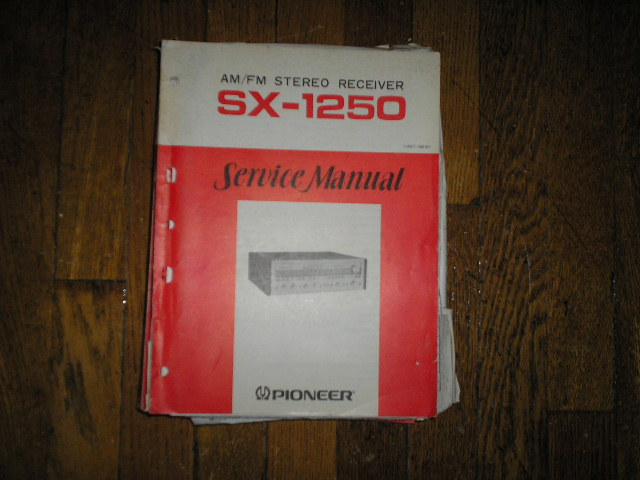 SX-1250 Receiver Service Manual     ART-158
