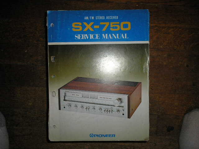 SX-750 KU KC Stereo Receiver Service Manual  PIONEER RECEIVERS