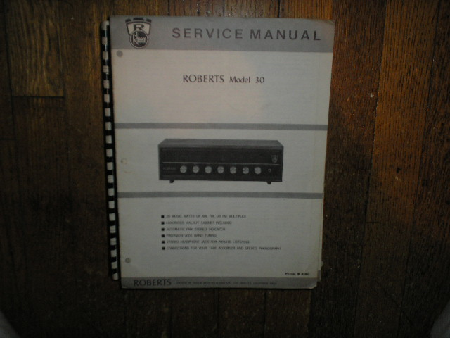 30 Stereo Receiver Service Manual