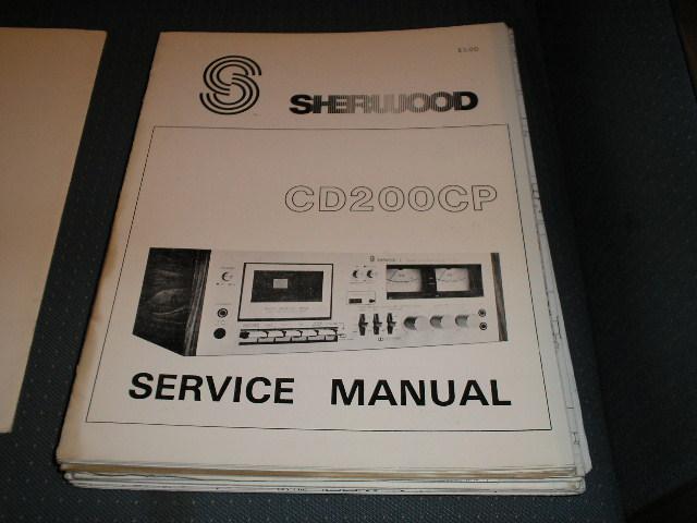 CD200CP Cassette Deck Service Manual