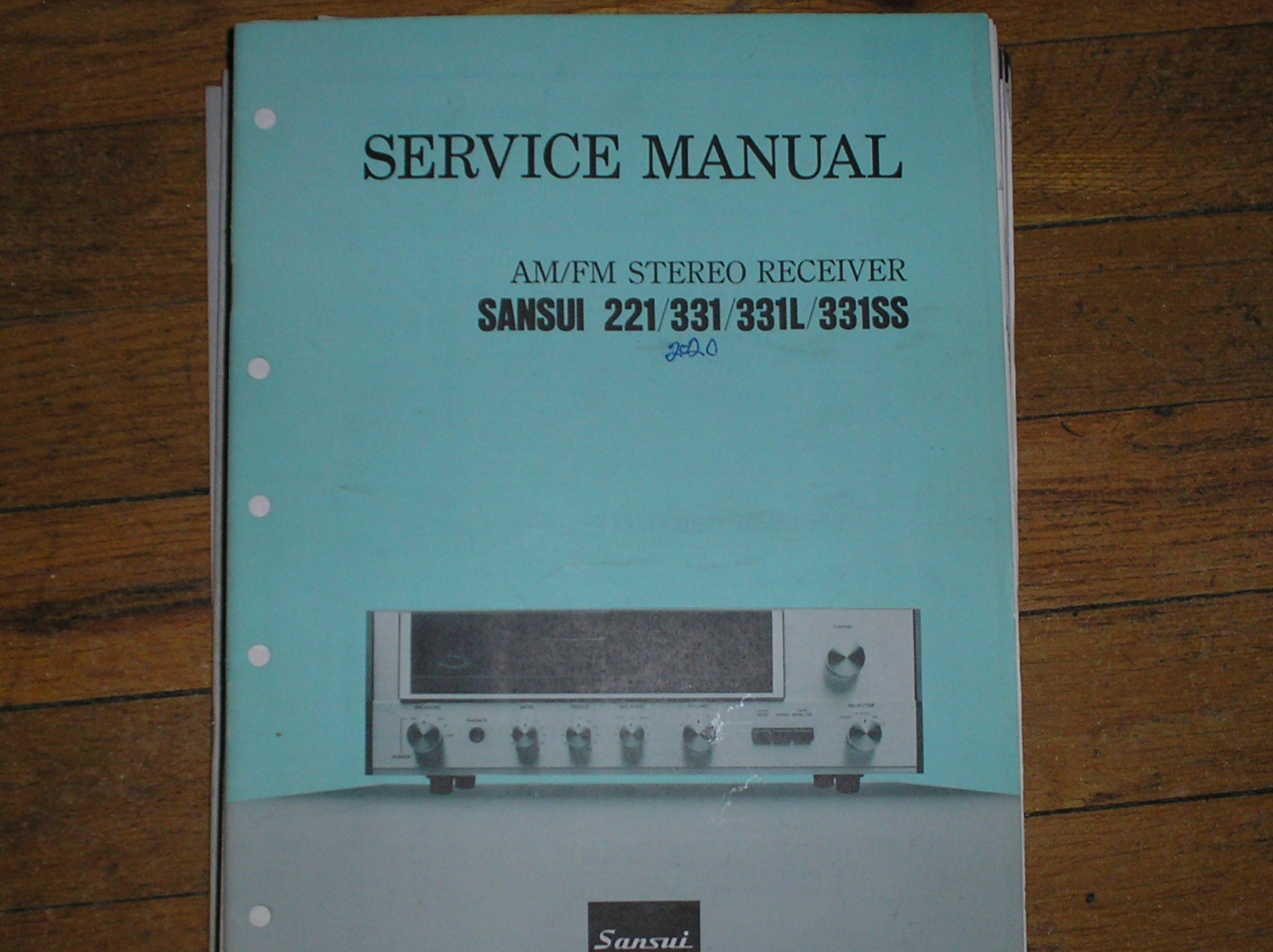 221 331 331L 331SS Receiver Service Manual