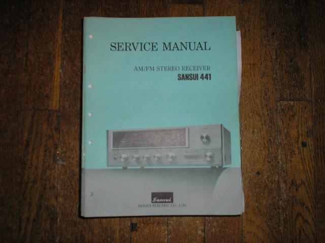 441 Receiver Service Manual