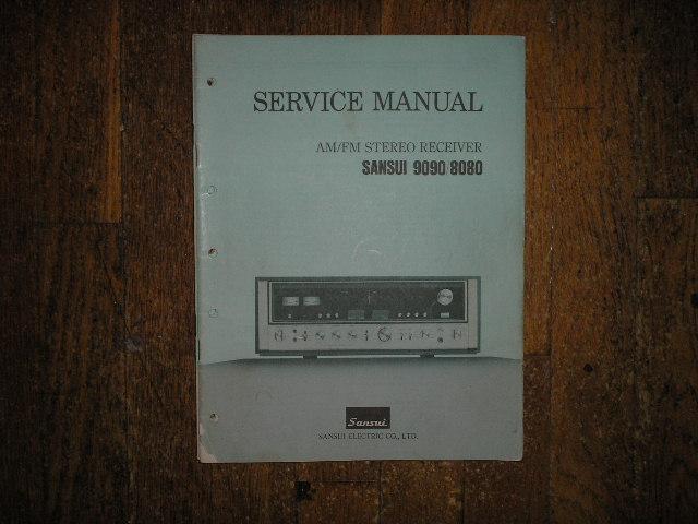 8080 9090DB Receiver Service Manual