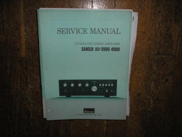 AU-3900 AU-4900 Amplifier Service Manual