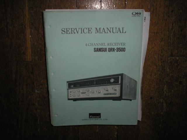 QRX-3500 Receiver Service Manual