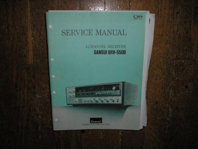 QRX-5500 Receiver Service Manual