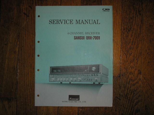 QRX-7001 Receiver Service Manual