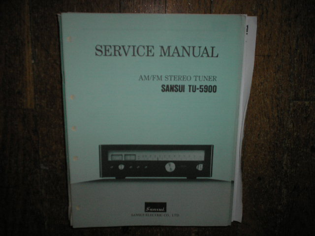 TU-5900 Tuner Service Manual