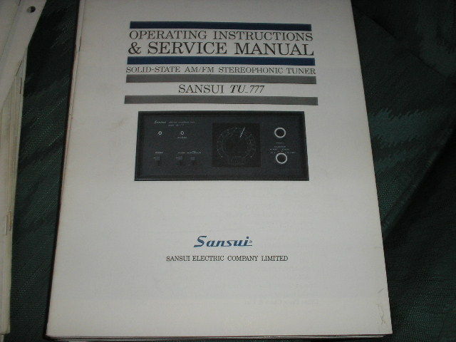 sansui 350a receiver manual