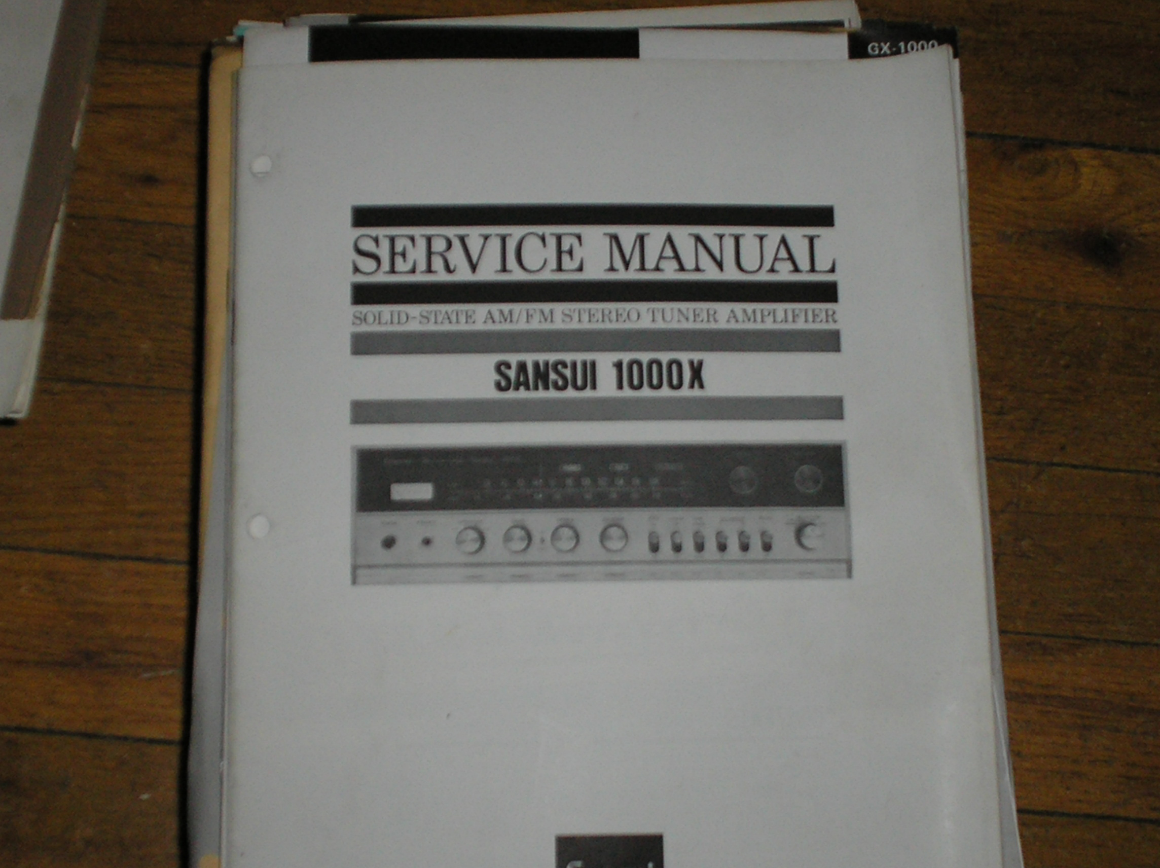 1000X Tuner Amplifier Service Manual